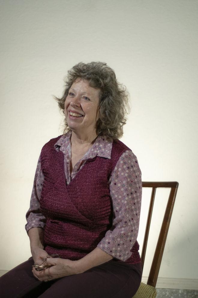 Portrait of Rose Derrickson sitting in a chair