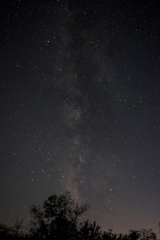 milky way galaxy over north missouri near Chillicothe Missouri