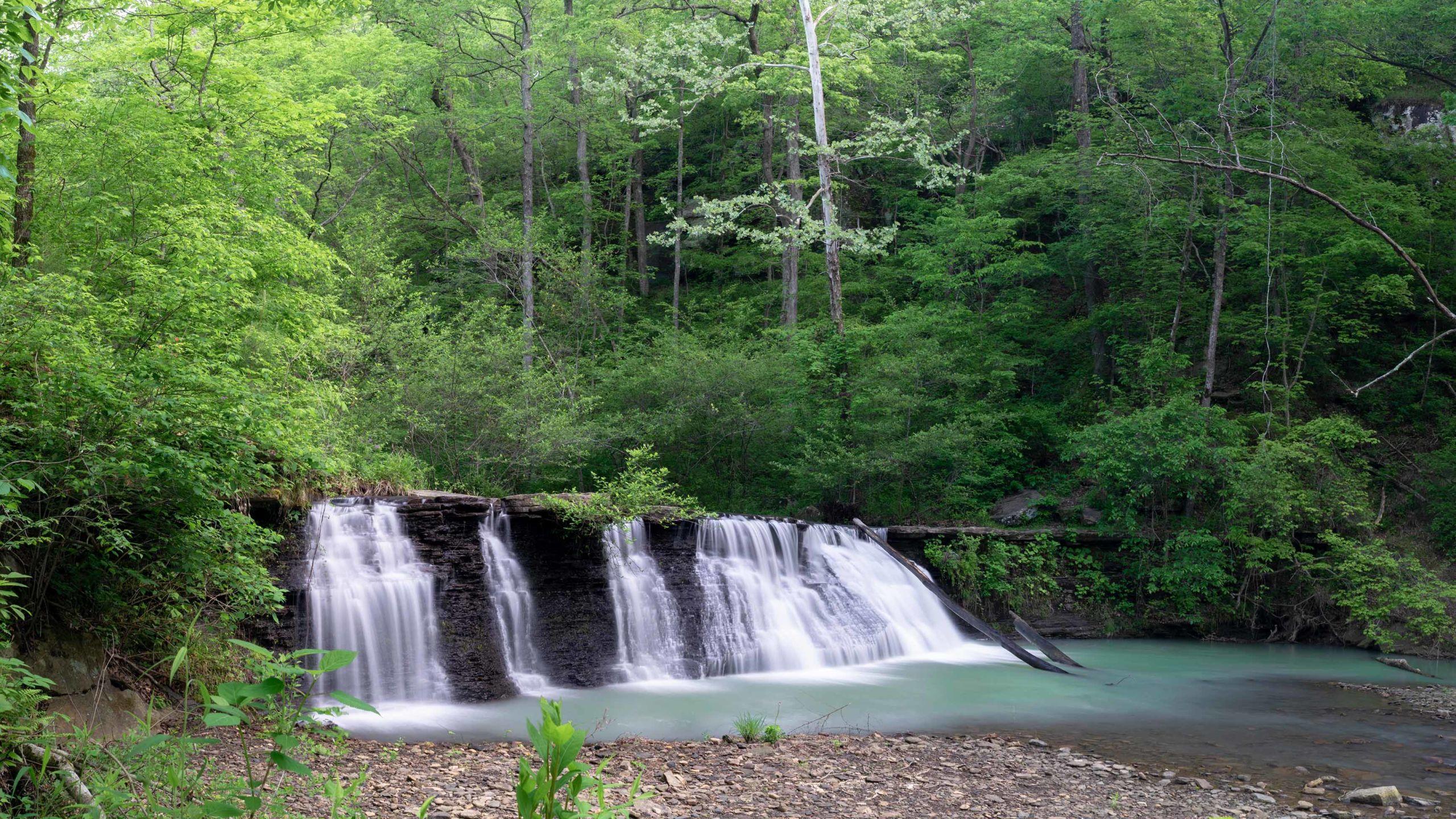 white-rock-mountain-water-fall