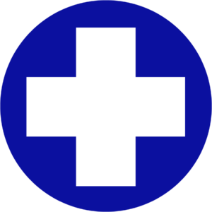 Littleton Equine Circle cross logo