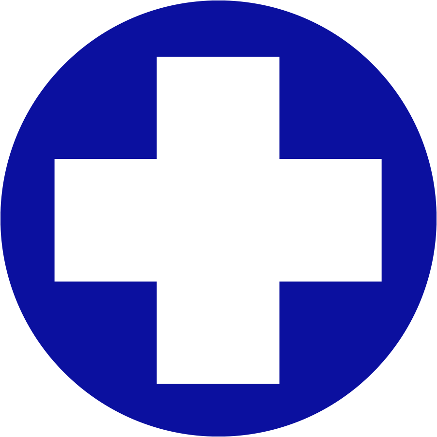 Littleton Equine Circle cross logo