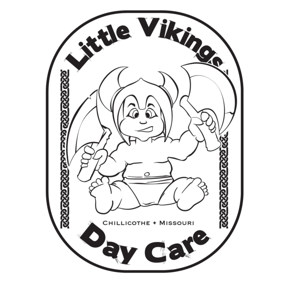 Little Vikings Daycare Logo