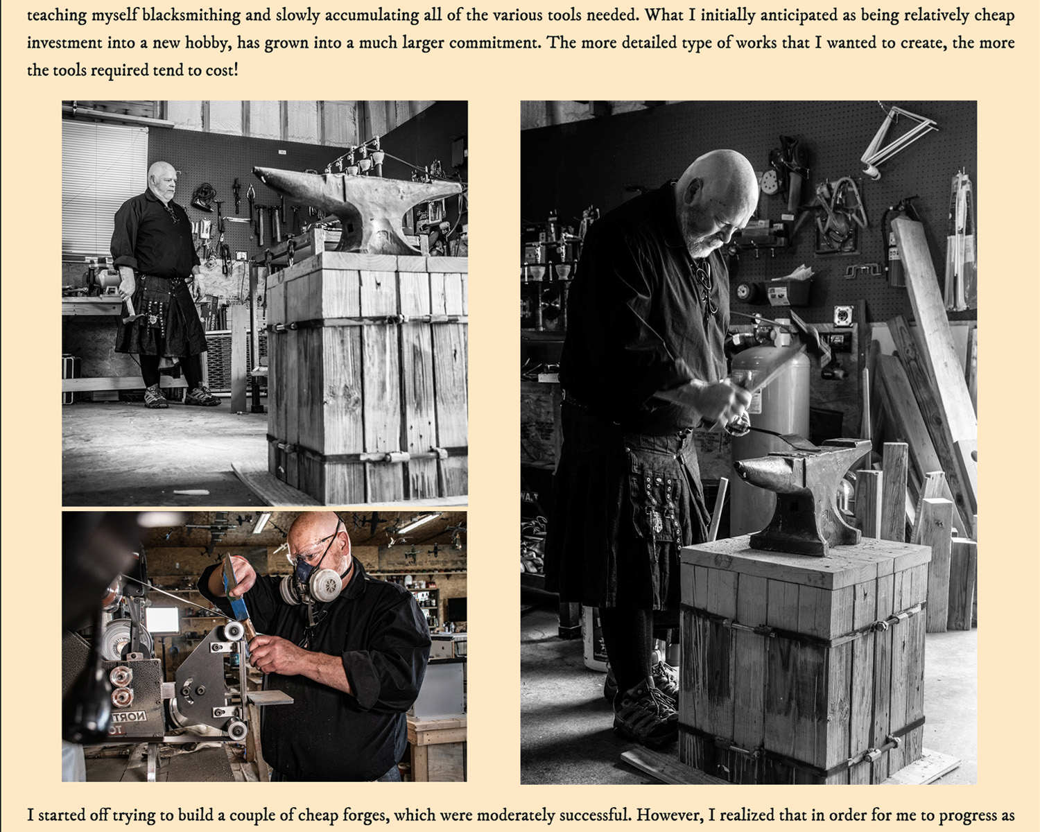 Pen and Steel Blacksmith screenshot page 2