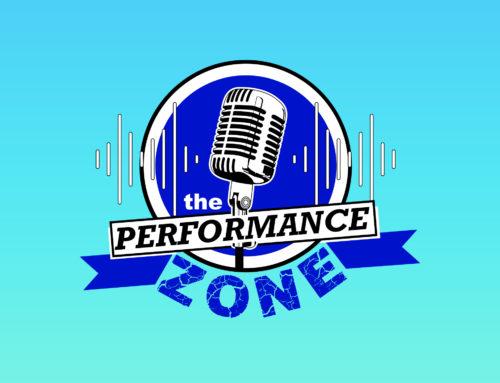 The Performance Zone logo design