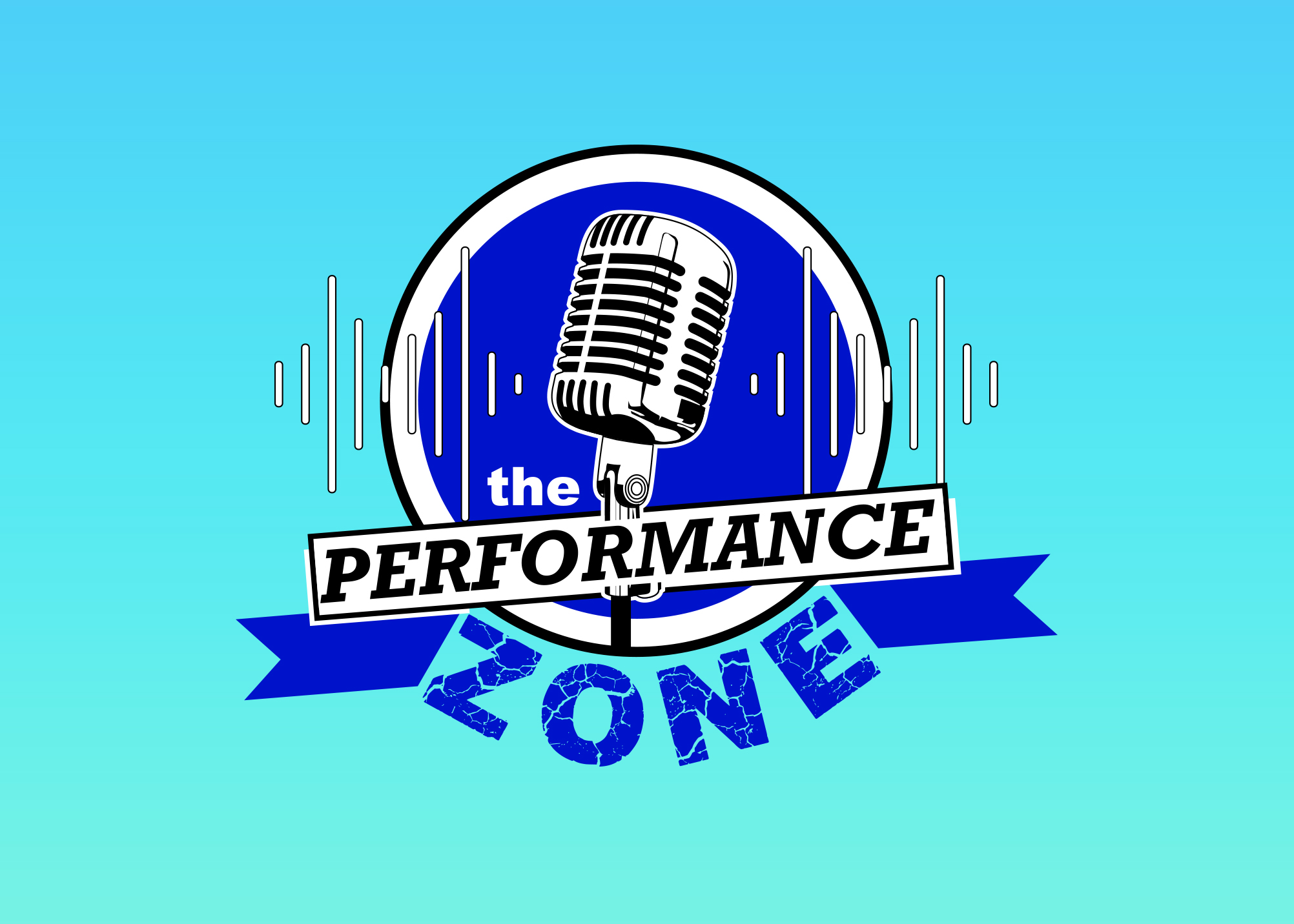 The Performance Zone logo