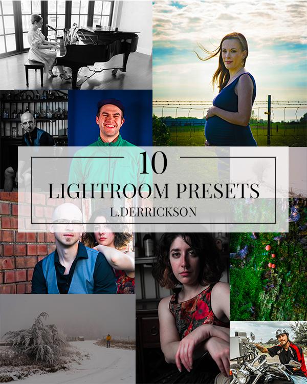 Photo Collage off leif derrickson 10 lightroom preset pack giveaway