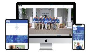 Littleton Equine website display devices